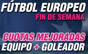 Wanabet futbol europeo Fin semana