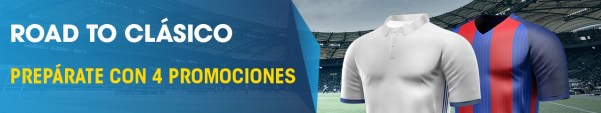 Road to clásico La Liga William Hill
