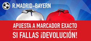 Sportium Champions R Madrid Bayern Devolucion