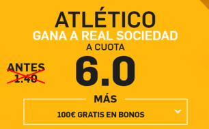 Supercuota Betfair Atlético - Real Sociedad