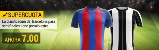 Supercuota Bwin Barcelona Juventus