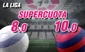 Supercuota wanabet la liga Real Madrid Barcelona