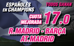 Wanabet Champions Españoles todos Ganan