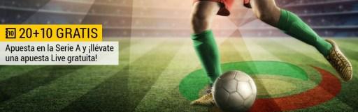 Bwin Serie A Jornada 38 20 + 10 gratis