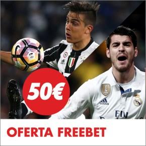 Circus Final Champions 50€ freebet