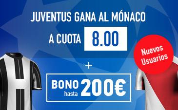 Sportium Juventus Monaco