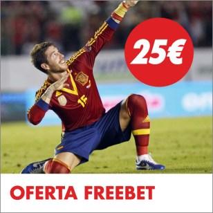 Circus España - Colombia freebet 25€