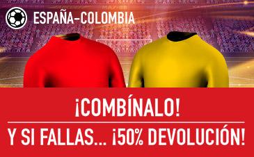 Sportium España Colombia combinada