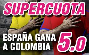 Supercuota Wanabet España Colombia