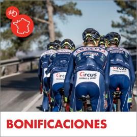 Circus Tour de Francia premiox extra con nuestro equipo