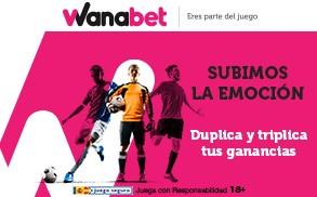Wanabet International Champions Cup duplica y triplica tus ganancias