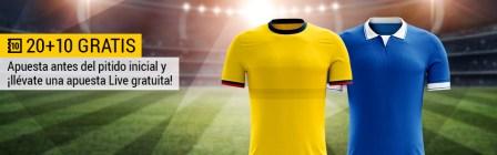 Bwin Colombia - Brasil 20+10 Gratis