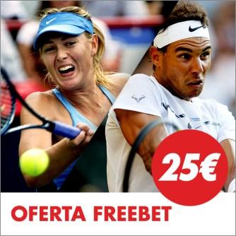 Circus US Open 25€ freebet
