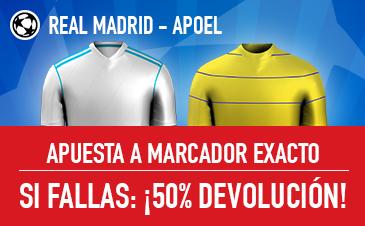 Sportium Real Madrid - Apoel Devolución 50%