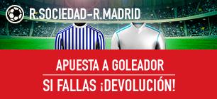 Sportium la Liga real Sociedad Real Madrid devolucion