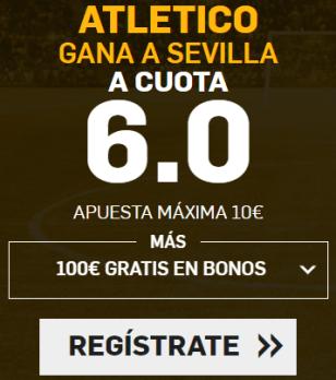 Supercuota Betfair - Atlético gana a Sevilla