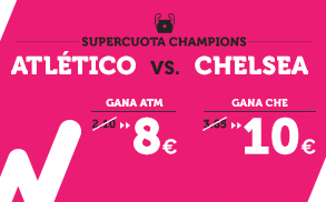 Supercuota Wanabet Champions - Atlético vs Chelsea