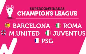 Wanabet supercombinada Champions League 27 septiembre