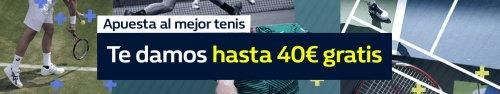 WilliamHill hasta 40€ gratis en Tenis