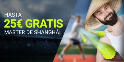 Luckia hasta 25€ gratis en Master de Shangai
