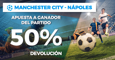 Paston Manchester City Napoles devolucion