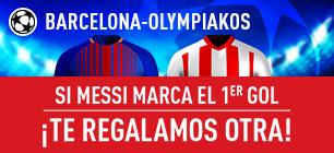 Sportium Champions Barcelona Olympiakos messi gol