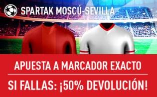Sportium Champions Sevilla devolucion