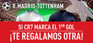 Sportium Real Madrid Tottenham cr7 gol