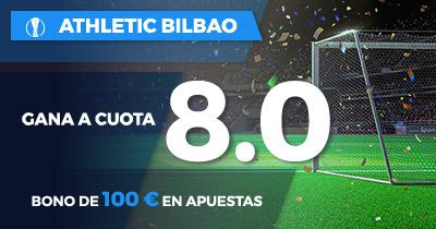 Supercuota Paston Europa League Athletic gana a cuota 8.0