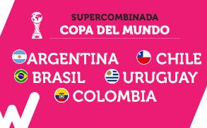 Wanabet Supercombinada Copa del Mundo Sudamerica