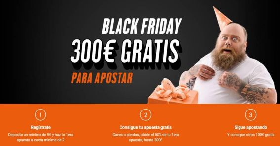 Luckia Black Friday 300€ gratis