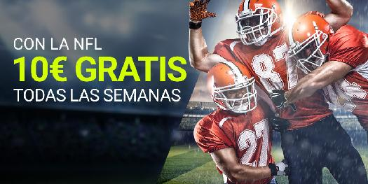 Luckia NFL 10 euros gratis