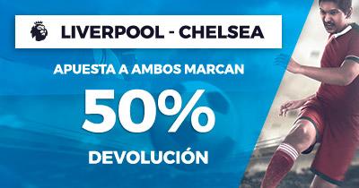 Paston Premier League Liverpool - Chelsea 50% Devoluciòn
