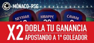 Sportium Monaco - PSG dobla tu ganancia