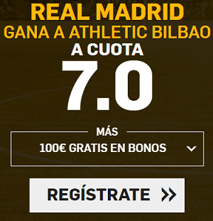 Supercuota Betfair la Liga Real Madrid gana Athletic Bilbao