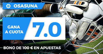 Supercuota Paston Liga 123 Osasuna