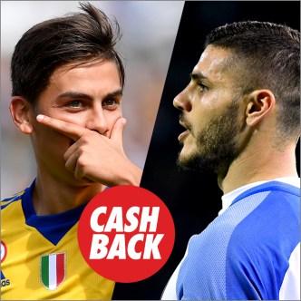 Circus Juventus vs Inter de Milán Cashback!