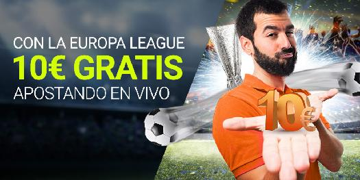 Luckia 10€ gratis Europa League