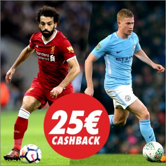 Circus liverpool vs Manchester 25€ cashback