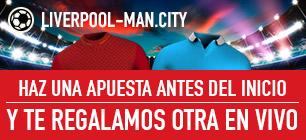 Sportium Liverpool - Manchester City Regala apuesta en vivo
