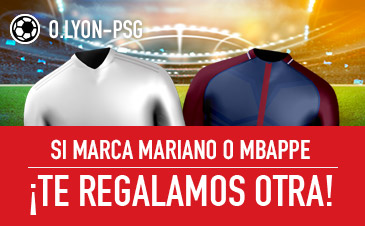 Sportium Lyon - PSG Si Mariano o Mbappé marcan... ¡Te damos otra!