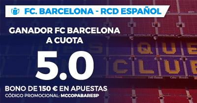 Supercuota Paston Copa del Rey FC Barcelona - RCD Español