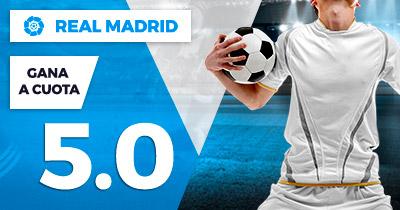 Supercuota Paston la Liga Real Madrid gana cuota 5.0