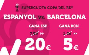 Supercuota Wanabet Copa del Rey Espanyol Barcelona