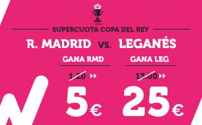 Supercuota Wanabet Copa del Rey: Barcelona a cuota 5 vs Espanyol a cuota 30  Sólo para nuevos clientes y primera apuesta (dinero real) Apuesta mínima: 5 euros , máxima para supercuota 10€ Código:ASEGURAS
