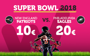 Wanabet Super Bowl 2018 New England Patriots vs Philadelphia Eagles