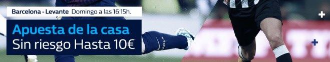 Williamhill la Liga Barcelona - Levante