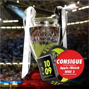Circus Combinada Champions League Apple iWatch Nike 3