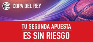 Sportium Copa del Rey segunda apuesta sin riesgo