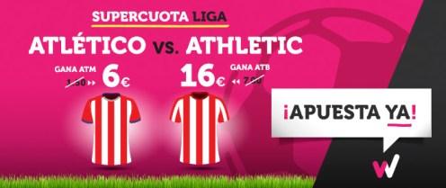 Supercuota Wanabet la Liga Atlético - Athletic